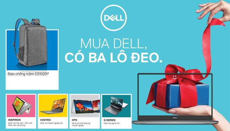 khuyến mãi Laptop Dell tháng 03-2020
