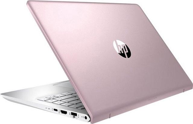 Máy tính xách tay Laptop màu hồng HP Pavilion 14-ce2038TU (6YZ21PA)