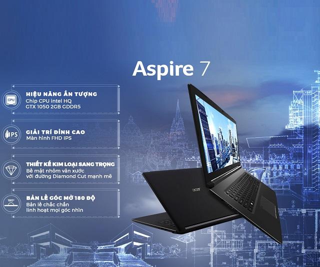 Acer Aspire 7 A715-72G-50NA Core i5