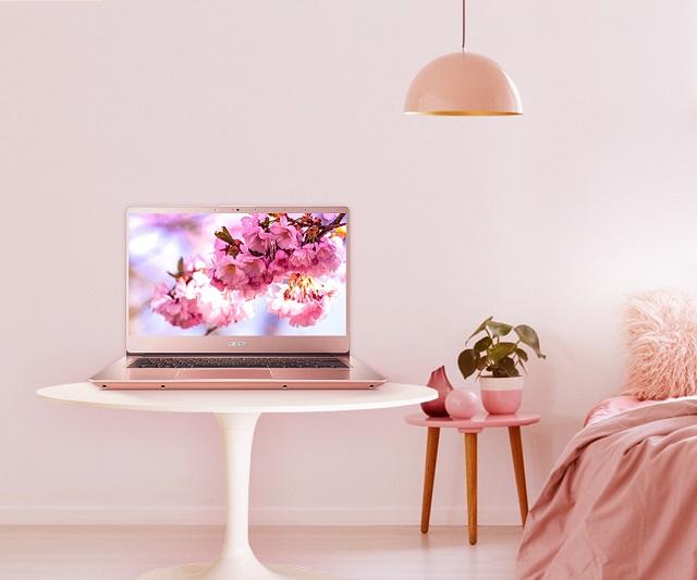 Acer Swift 3 SF314-57-54B2 màu hồng