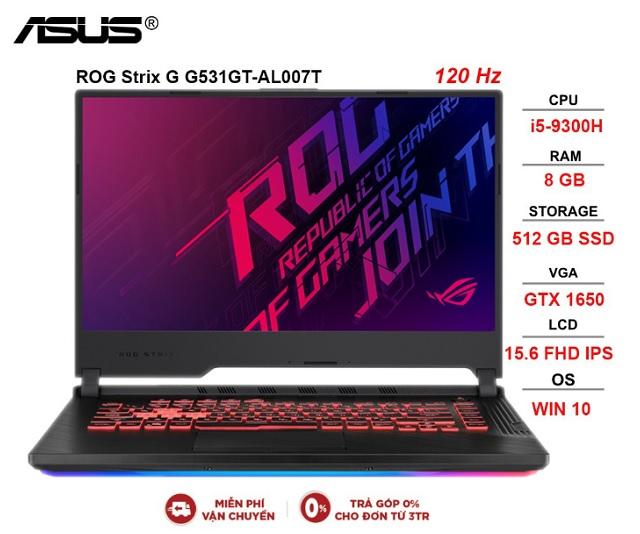 ASUS ROG Strix G G531GT-AL007T i5-9300H