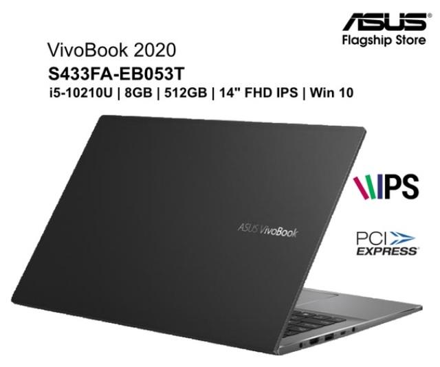 ASUS VivoBook S433FA-EB053T i5-10210U