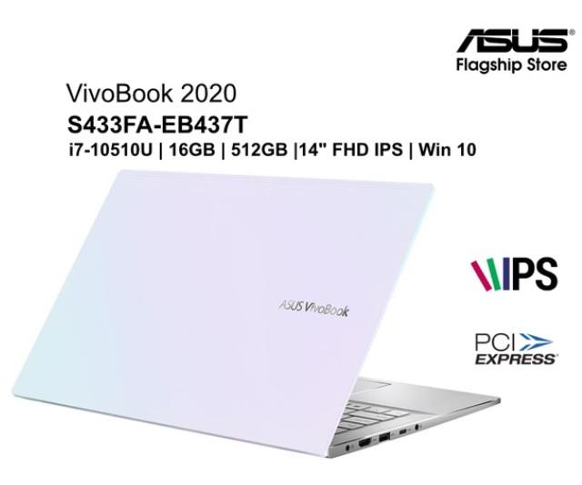 ASUS VivoBook S433FA-EB437T i7-10510U