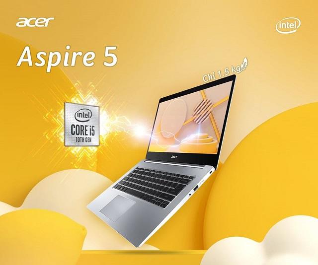 Chuyện nhỏ với Acer Aspire 5