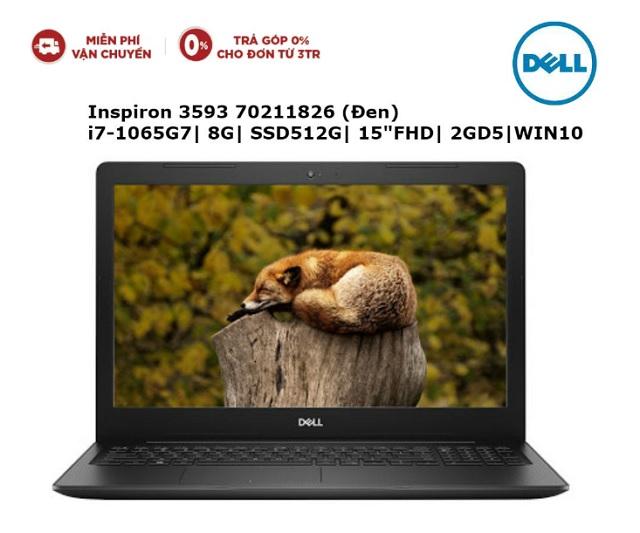 Dell Inspiron 3593 70211826 i7-1065G7