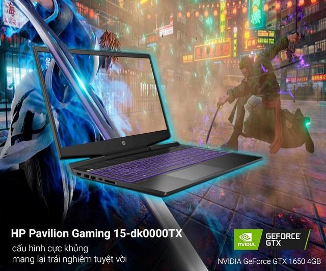 HP Pavilion Gaming 15-dk0000TX i5