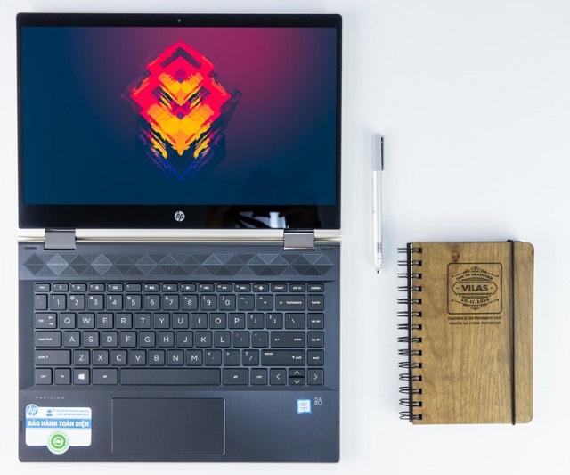 HP Pavilion X360 14-cd1018TU (Vàng)