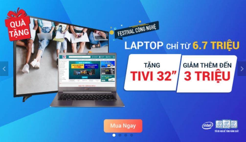Khuyến mãi Laptop: Cập nhật các chương trình mới nhất tháng 03/2020
