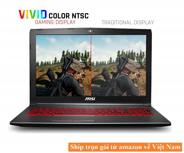 Laptop Gaming MSI GV62 8RD-034