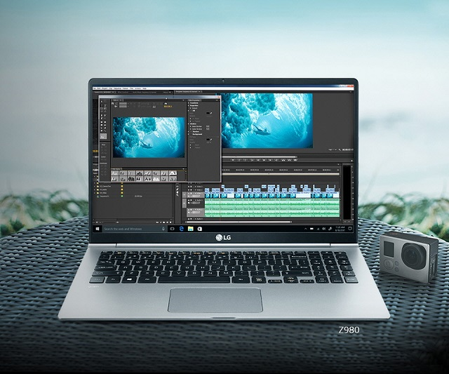Laptop LG Gram 14Z980-G.AH52A5 i5