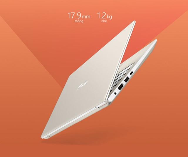 Laptop màu vàng Core i7 Asus Vivobook S13 S330UA-EY042T