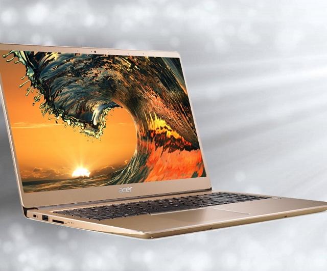 Laptop mỏng nhẹ, thời lượng pin lên tới 11 giờ Acer Swift 3 SF315-52G-58TE