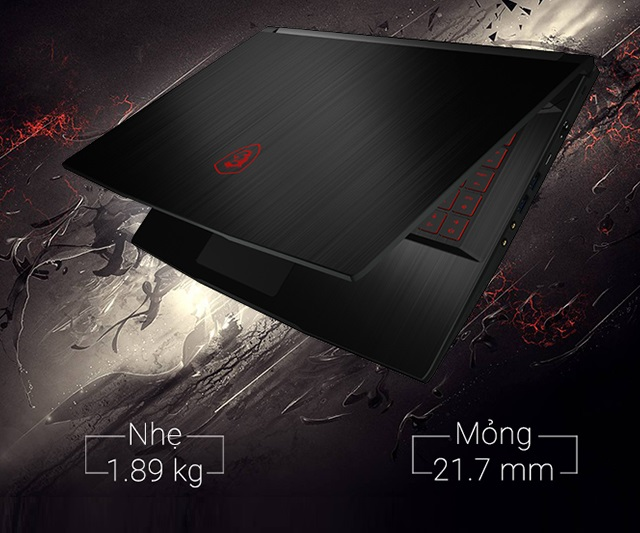 Laptop MSI Gaming GF63 8RD-242VN