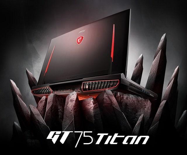 Laptop MSI Titan GT75 8RG-252VN