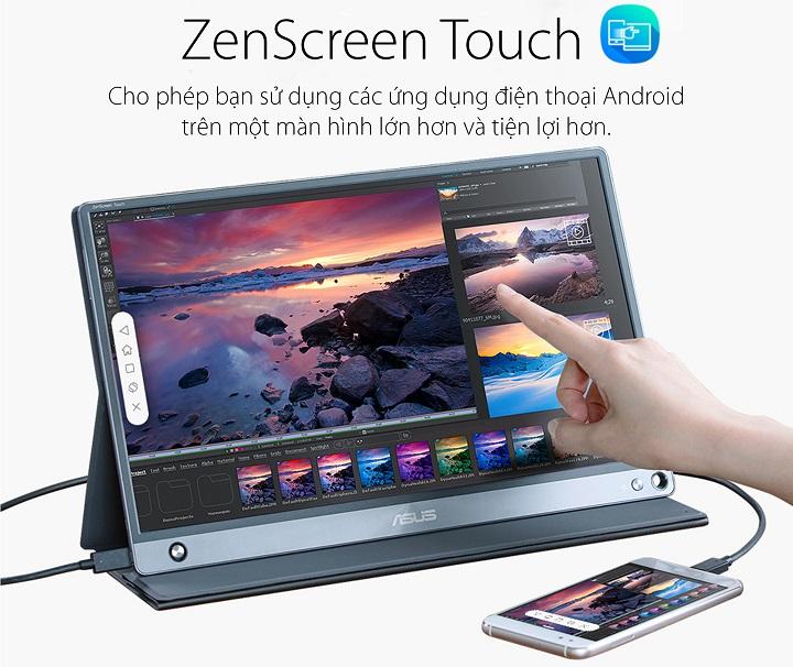 Màn hình di động USB ASUS ZenScreen Touch MB16AMT