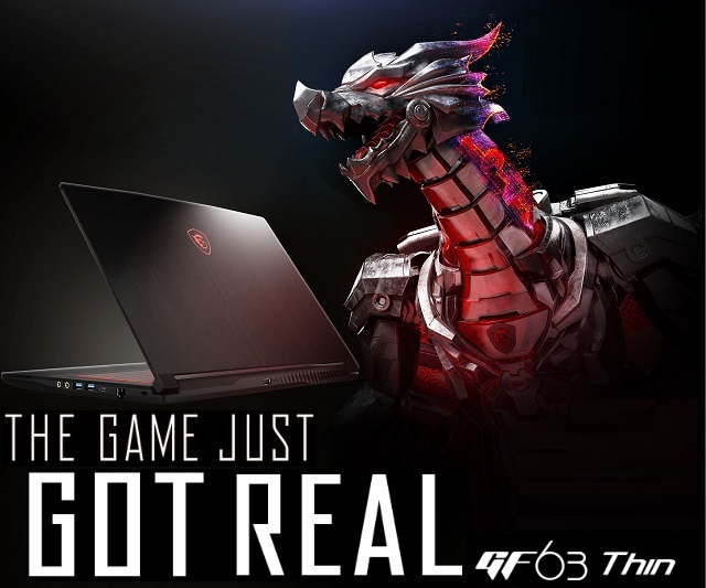 MSI Gaming GF63 Thin 9RCX-646VN i5