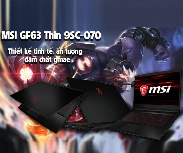 MSI GF63 Thin 9SC-070VN (i7-9750H)